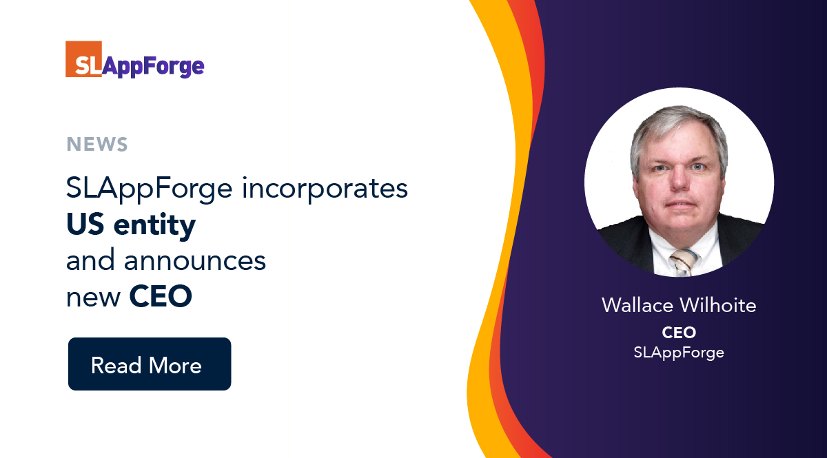 SLAppForge incorporates US entity and announces new CEO